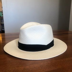 rag & bone | white panama straw summer hat